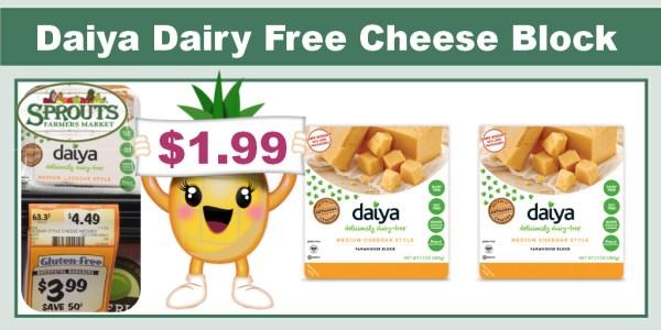 Daiya Dairy Free Cheese Block Coupon Deal
