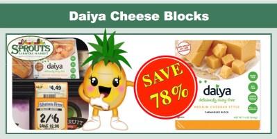 Daiya Cheese Block Coupon Deal