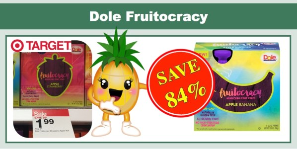 Dole Fruitocracy Pouches Coupon Deal