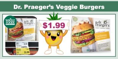 Dr. Praeger's Veggie Burgers Coupon Deal