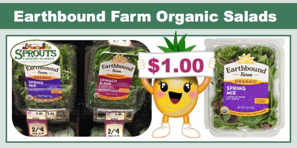 Earthbound Farm Organic Salads Coupon Deal