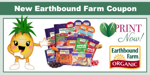 Earthbound Farm Organic Product Coupon