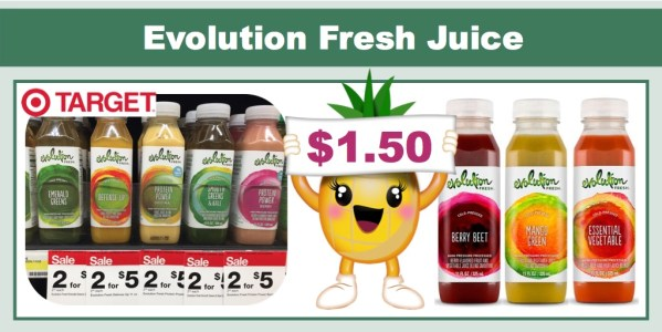 Evolution Fresh Juice Coupon