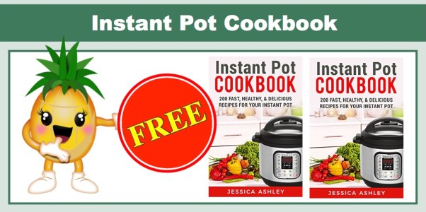 FREE Instant Pot Cookbook