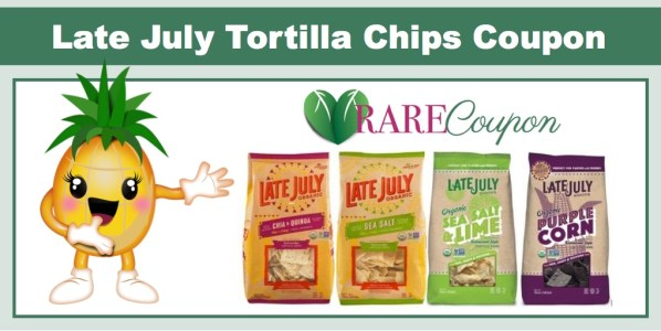 Late July Organic Tortilla Chips Coupon