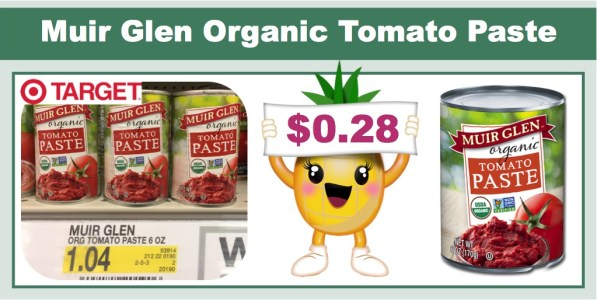muir glen organic tomato paste coupon deal