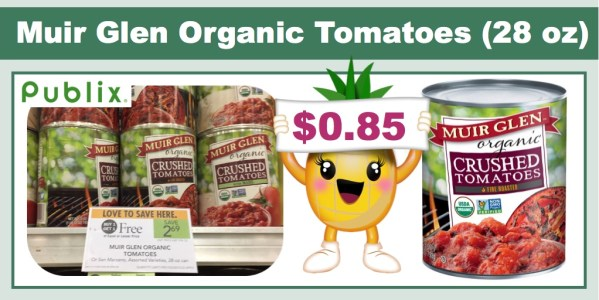 Muir Glen Organic Tomatoes Coupon Deal