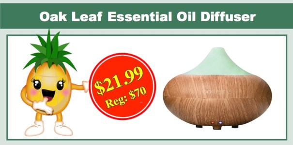 Oak Leaf Essential Oil Diffuser