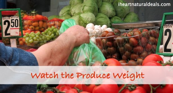 organic produce weight