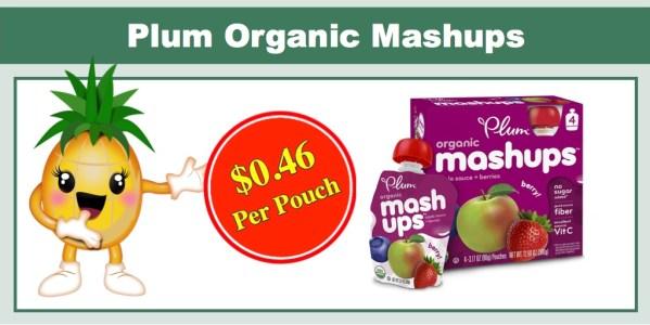 Plum Organics Mashups (24 Pouches)