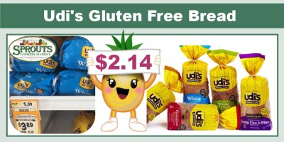 Udi's Gluten Free Bread Coupon Deal