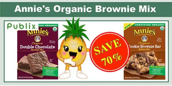 Annie's Organic Brownie Mix coupon deal