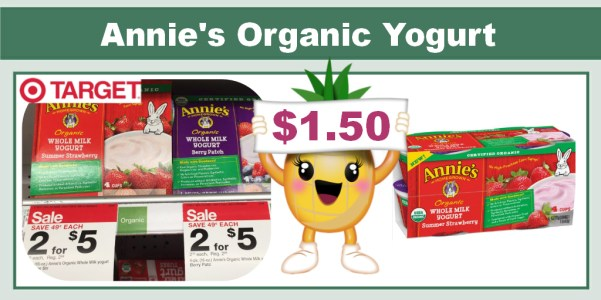 Annie's Organic Yogurt Coupon Deal
