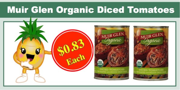 Muir Glen Organic Diced Tomatoes (Fire Roasted, 12 Pack)