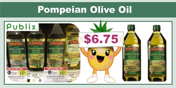Pompeian Olive Oil Coupon Deal
