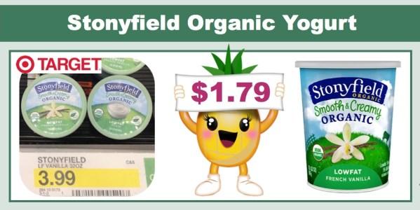 Stonyfield Organic Yogurt Coupon Deal