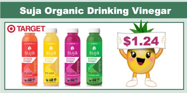 Suja Organic Drinking Vinegar Coupon Deal