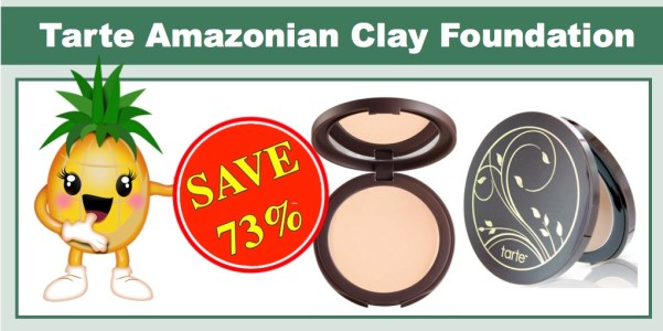 Tarte Amazonian Clay Smoothing Balm Makeup Buildable Foundation