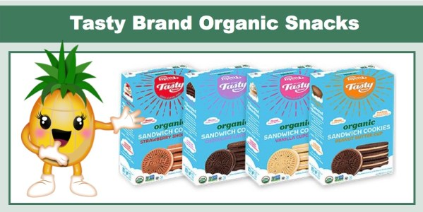 Tasty Brand Organic Snacks Review