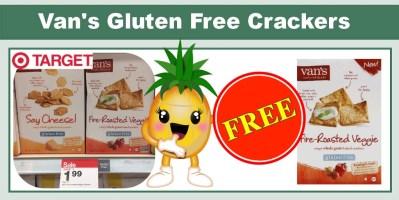 Van's Gluten Free Crackers Coupon Deal
