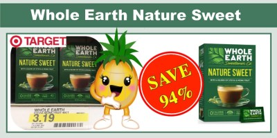 Whole Earth Sweetener Co. Nature Sweet Coupon Deal