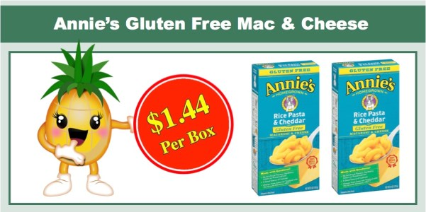 Annie's Gluten Free Mac & Cheese