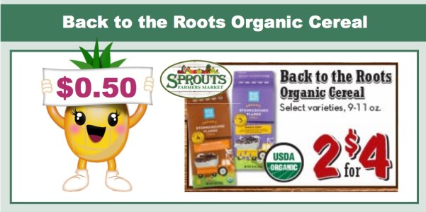Back to the Roots Organic Cereal