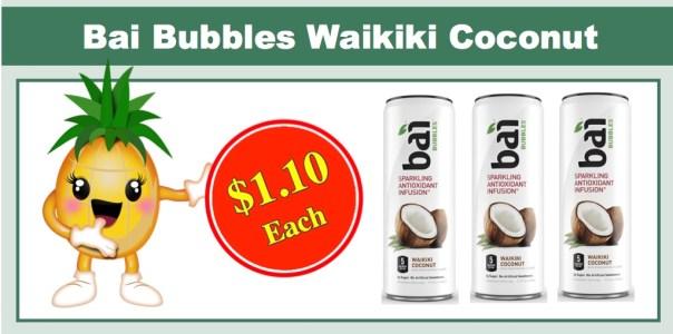 Bai Bubbles Waikiki Coconut
