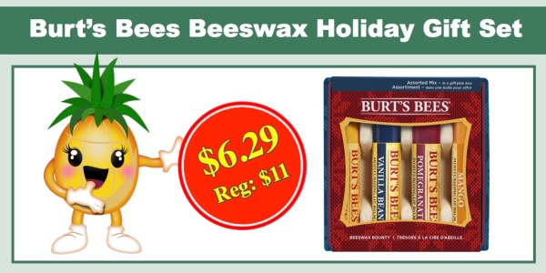 Burt's Bees Beeswax Holiday Gift Set
