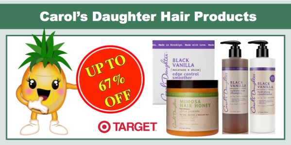 Carol's Daughter Hair Products Coupon Deal