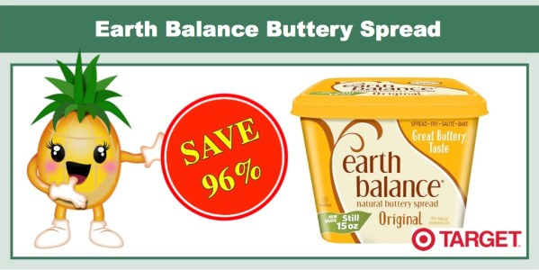 Earth Balance Buttery Spread Coupon Deal