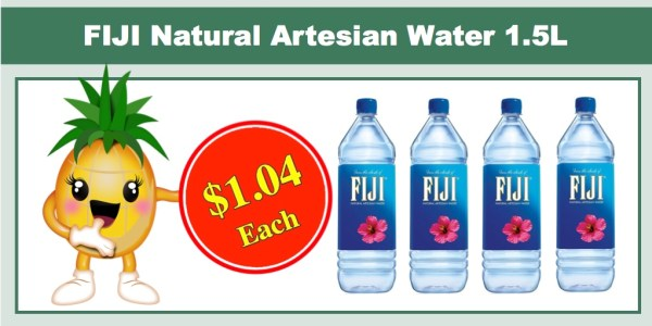 FIJI Natural Artesian Water 1.5L