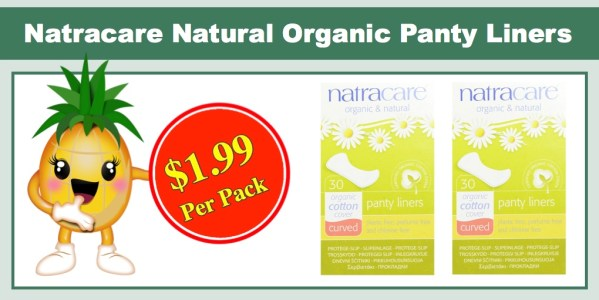 Natracare Natural Organic Curved Panty Liners