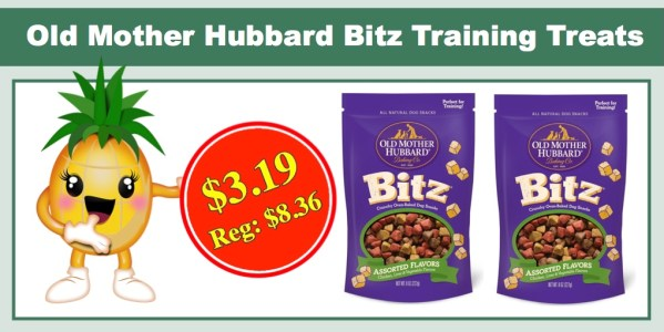 Old Mother Hubbard Bitz Training Treats