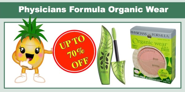 Physicians Formula Organic Wear Coupon Deal