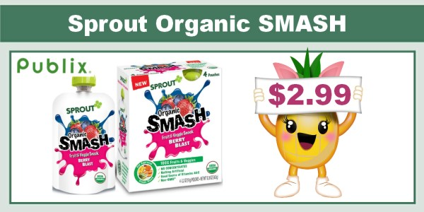 Sprout Organic SMASH Coupon Deal
