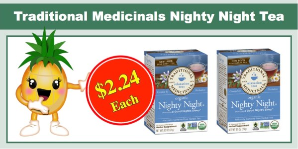 Traditional Medicinals Organic Nighty Night Tea