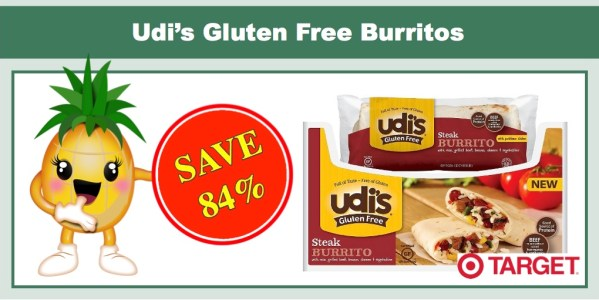 Udi's Gluten Free Burritos Coupon Deal