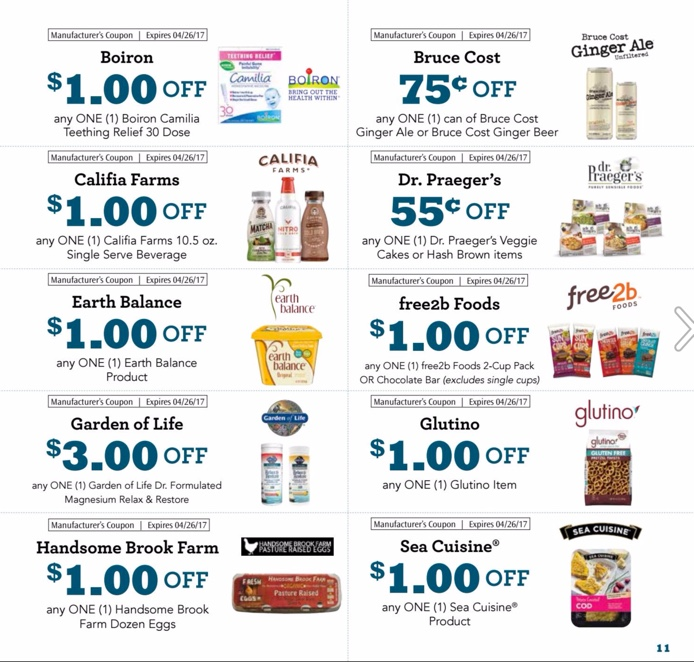 Sprouts March and April Coupons