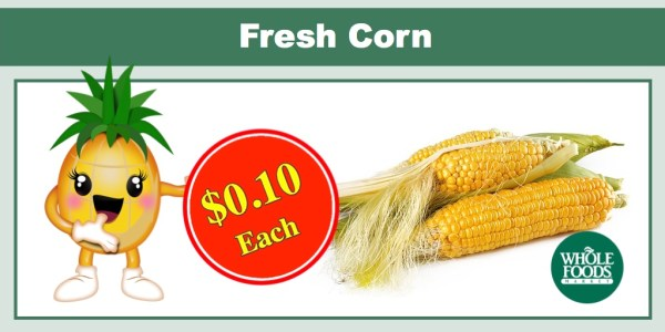 Fresh Corn at Whole Foods