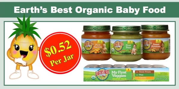 Earth's Best Organic Stage 1, My First Veggies Variety Pack (12 Ct)