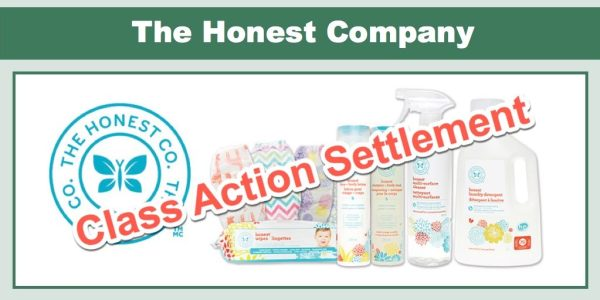 The Honest Company Class Action Settlement