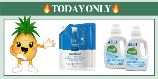 *TODAY ONLY* Extra 25% or More off Laundry Essentials - Great Deals!