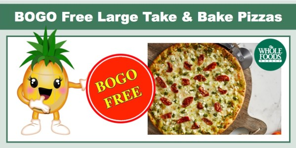 BOGO Free Large Take & Bake Pizzas