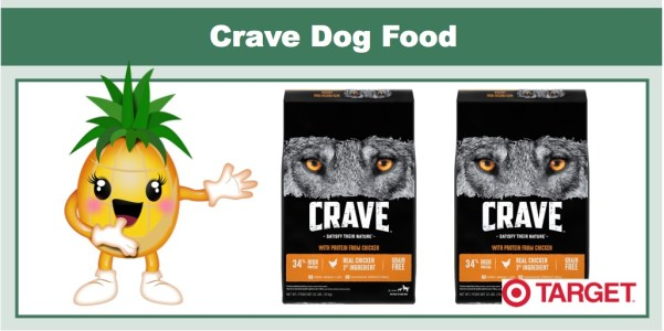 Crave Dog Food Coupon Deal