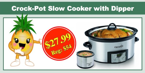 Crock-Pot Slow Cooker with Dipper