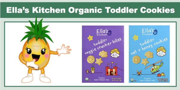 Ella's Kitchen Organic Toddler Cookies