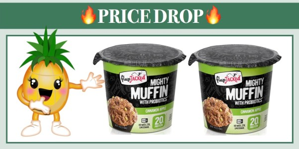 FlapJacked Gluten-Free Mighty Muffins