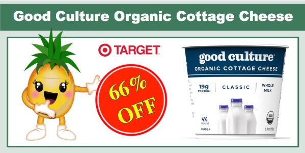 Good Culture Organic Cottage Cheese Coupon Deal