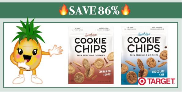 Hannah Max Cookie Chips Coupon Deal